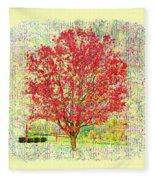 Autumn Musings 2 Fleece Blanket