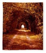 Autumn Of Life Fleece Blanket