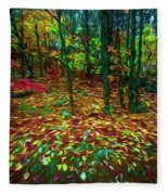 Autumn H5 Fleece Blanket