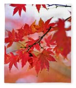Autumn Pastel Fleece Blanket