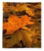 Autumn Quilt Fleece Blanket