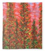 Autumn Vivaldi Fleece Blanket