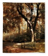Autumn Repose Fleece Blanket