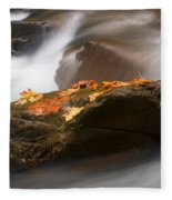 Autumn Resting Place Fleece Blanket