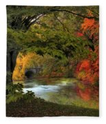 Autumn Reverie Fleece Blanket