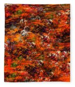 Autumn Riot Fleece Blanket