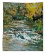 Autumn Rush Fleece Blanket
