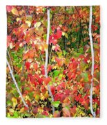 Autumn Sanctuary Fleece Blanket