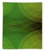 Autumn Semi Circle Background Horizontal Fleece Blanket