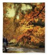 Autumn Splendor Promenade Fleece Blanket