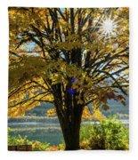 Autumn Splendour Fleece Blanket