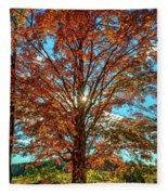 Autumn Star- Paint Fleece Blanket
