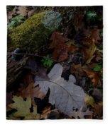 Autumn Still-life Fleece Blanket