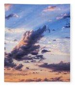 Autumn Sunrise 2 - Lyme Regis Fleece Blanket