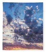 Autumn Sunrise - Lyme Regis Fleece Blanket