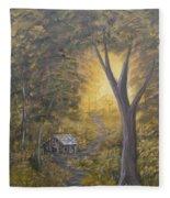 Autumn Sunshine Fleece Blanket