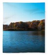 Autumn The In Loess Hills Fleece Blanket