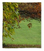 Autumn Tree 1 Fleece Blanket