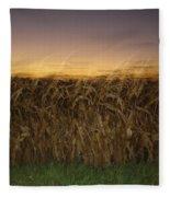 Autumn Twilight Fleece Blanket