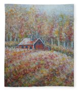 Autumn Whisper. Fleece Blanket