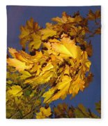 Autumn Winds Fleece Blanket