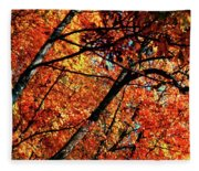 Autumn Wonder Fleece Blanket