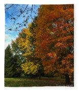 Autumn's Artwork Fleece Blanket