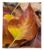 Autumns Color Palette Fleece Blanket