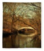 Autumn's End Fleece Blanket