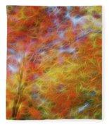 Autumn's Fire Fleece Blanket