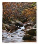 Autumns Flow Fleece Blanket