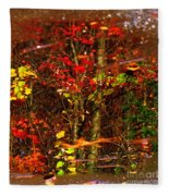 Autumns Looking Glass 2 Fleece Blanket