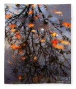 Autumns Looking Glass 3 Fleece Blanket