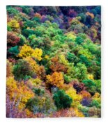 Autumn's Palette Fleece Blanket