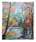 Autumn's Splendor Fleece Blanket