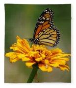 Autumn's Wings Fleece Blanket