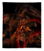 Autums Winds 2 Fleece Blanket