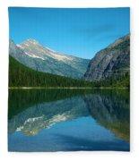 Avalanche Lake Fleece Blanket