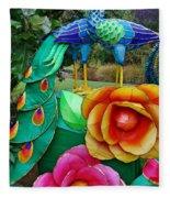 Avenue Of Dreams 11 Fleece Blanket
