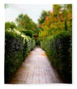 Avenue Of Dreams 2 Fleece Blanket