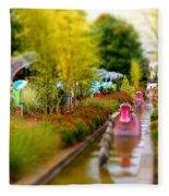 Avenue Of Dreams 4 Fleece Blanket