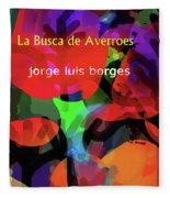 Averroes's Search Borges Poster Fleece Blanket
