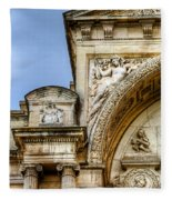Avignon Opera House Muse 1 Fleece Blanket