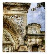 Avignon Opera House Muse 2 - Vintage Version Fleece Blanket
