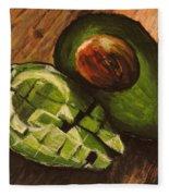 Avocado Fleece Blanket