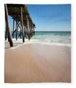 Avon By The Sea Fleece Blanket