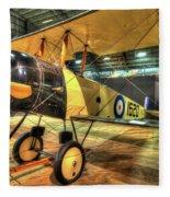 Avro 504k Fleece Blanket