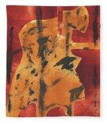 Axeman 3 Fleece Blanket