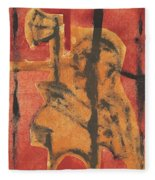 Axeman 14 Fleece Blanket