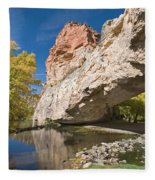 Ayres Natural Bridge Fleece Blanket